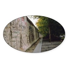 Berlin wall and stairway, Berlin, G Decal