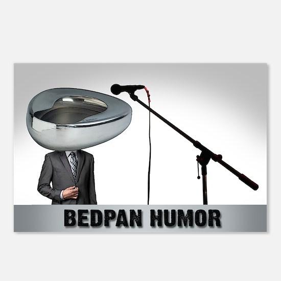 Bedpan Humor Postcards (Package of 8)