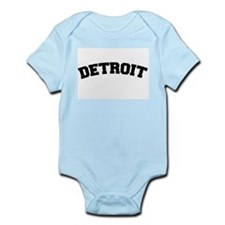 Detroit Black Infant Bodysuit