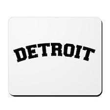 Detroit Black Mousepad
