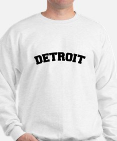 Detroit Black Sweatshirt