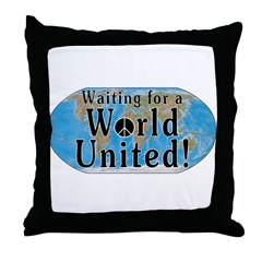 World Citizen Throw Pillow