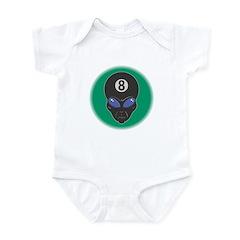 Eight Ball Alien Infant Bodysuit