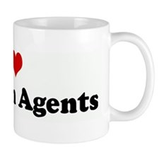 I Love Charlton Agents Mug