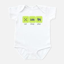 Toy American Eskimo Infant Bodysuit