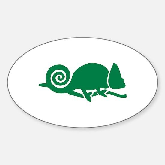Chameleon Sticker (Oval)
