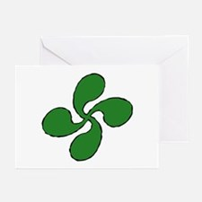 Funny Euskadi Greeting Cards (Pk of 10)