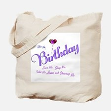 Birthday Wish Tote Bag