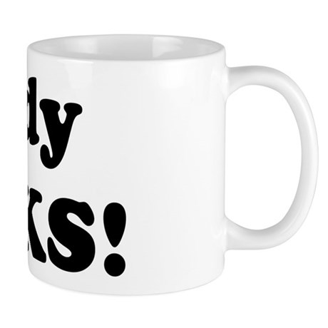 Cindy Rocks! Mug