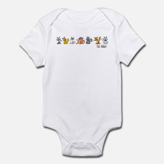 Cat Addict Infant Bodysuit