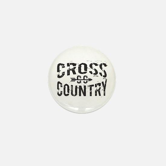 cross country Mini Button