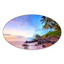 Poolenalena beach, Maui Decal
