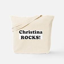 Christina Rocks! Tote Bag