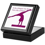 Gymnastics Keepsake Box - Champion