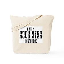 Rock Star In Baghdad Tote Bag