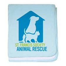 St Francis Animal Rescue baby blanket