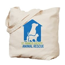 St Francis Animal Rescue Tote Bag