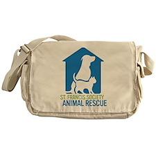 St Francis Animal Rescue Messenger Bag