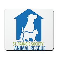St Francis Animal Rescue Mousepad