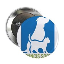 "St Francis Animal Rescue 2.25"" Button"