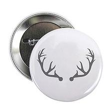 "Deer antlers 2.25"" Button"