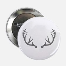 "Deer antlers 2.25"" Button (10 pack)"