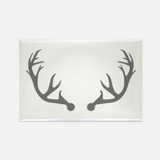 Deer antlers Rectangle Magnet (100 pack)