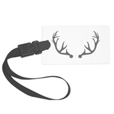 Deer antlers Luggage Tag