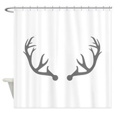 Deer antlers Shower Curtain