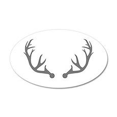 Deer antlers Wall Decal