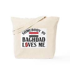 Somebody In Baghdad Tote Bag