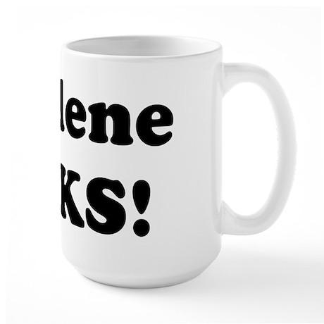 Charlene Rocks! Large Mug