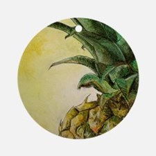 Pineapple Ornament (Round)