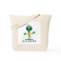 Doctor Alien Tote Bag