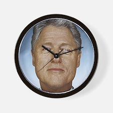 Bill Clinton Wall Clock