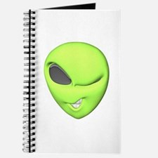 Funny Winking Alien Journal