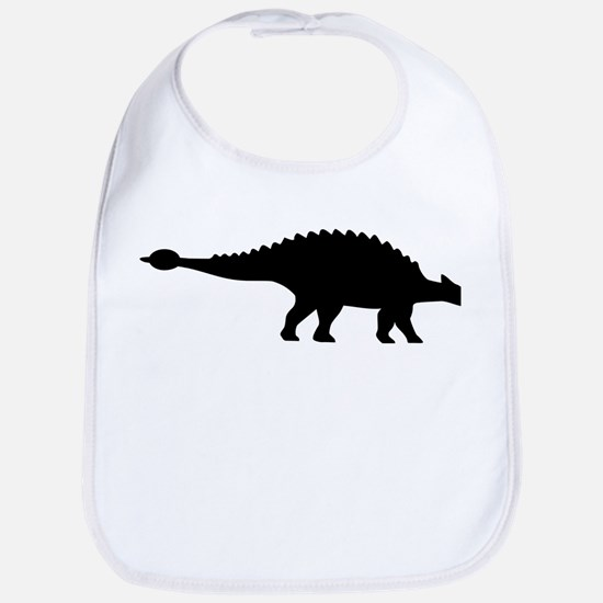 Dinosaur ankylosaurus Bib