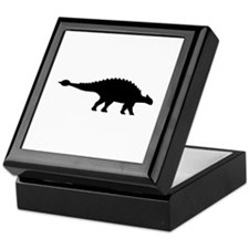 Dinosaur ankylosaurus Keepsake Box