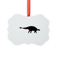 Dinosaur ankylosaurus Ornament