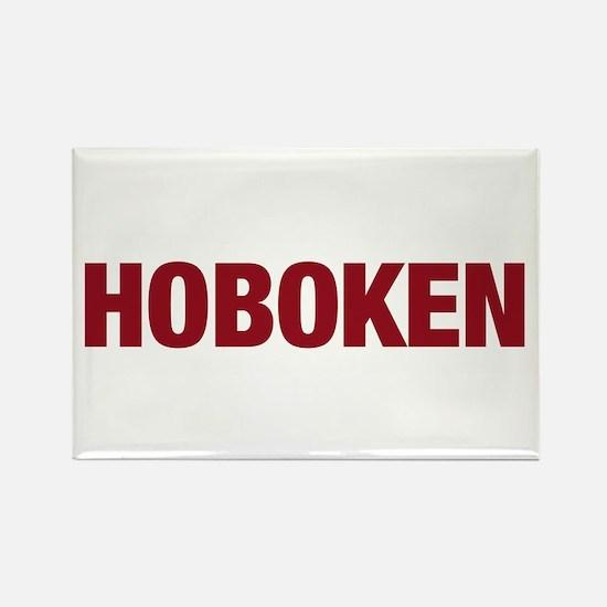 Hoboken Rectangle Magnet