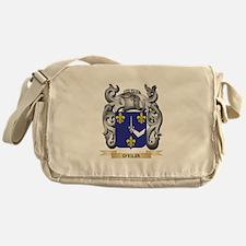 D'Elia Coat of Arms - Family Cre Messenger Bag