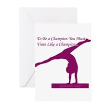 Gymnastics Cards - Champion