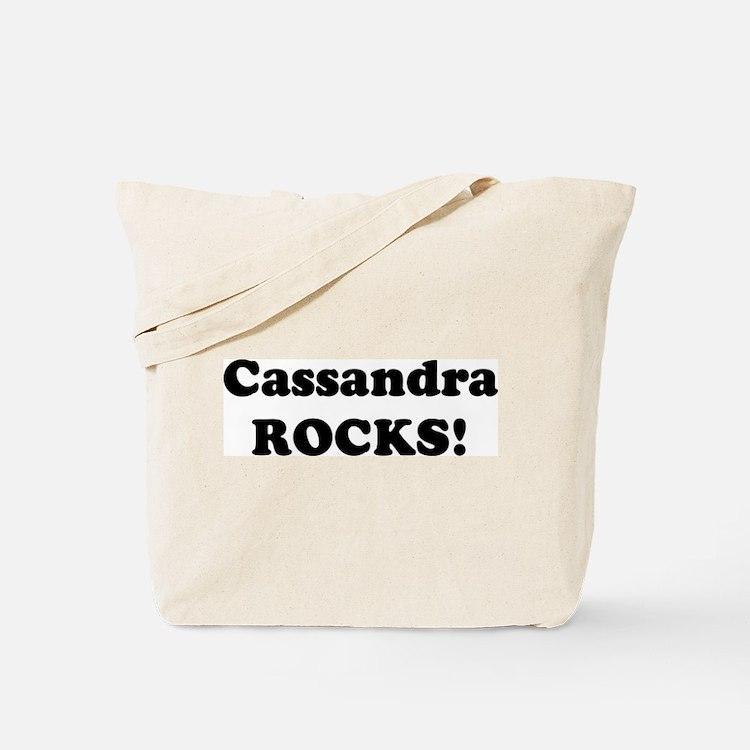 Cassandra Rocks! Tote Bag