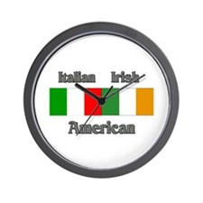 Italian Irish American Wall Clock