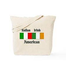 Italian Irish American Tote Bag
