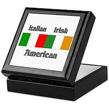 Italian Irish American Keepsake Box
