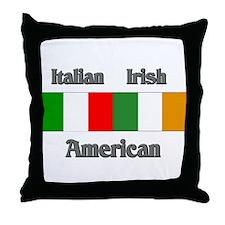 Italian Irish American Throw Pillow