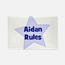 Aidan Rules Rectangle Magnet