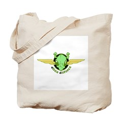 Alien Air Force Tote Bag