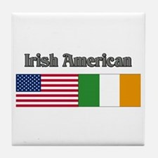 Irish American Tile Coaster